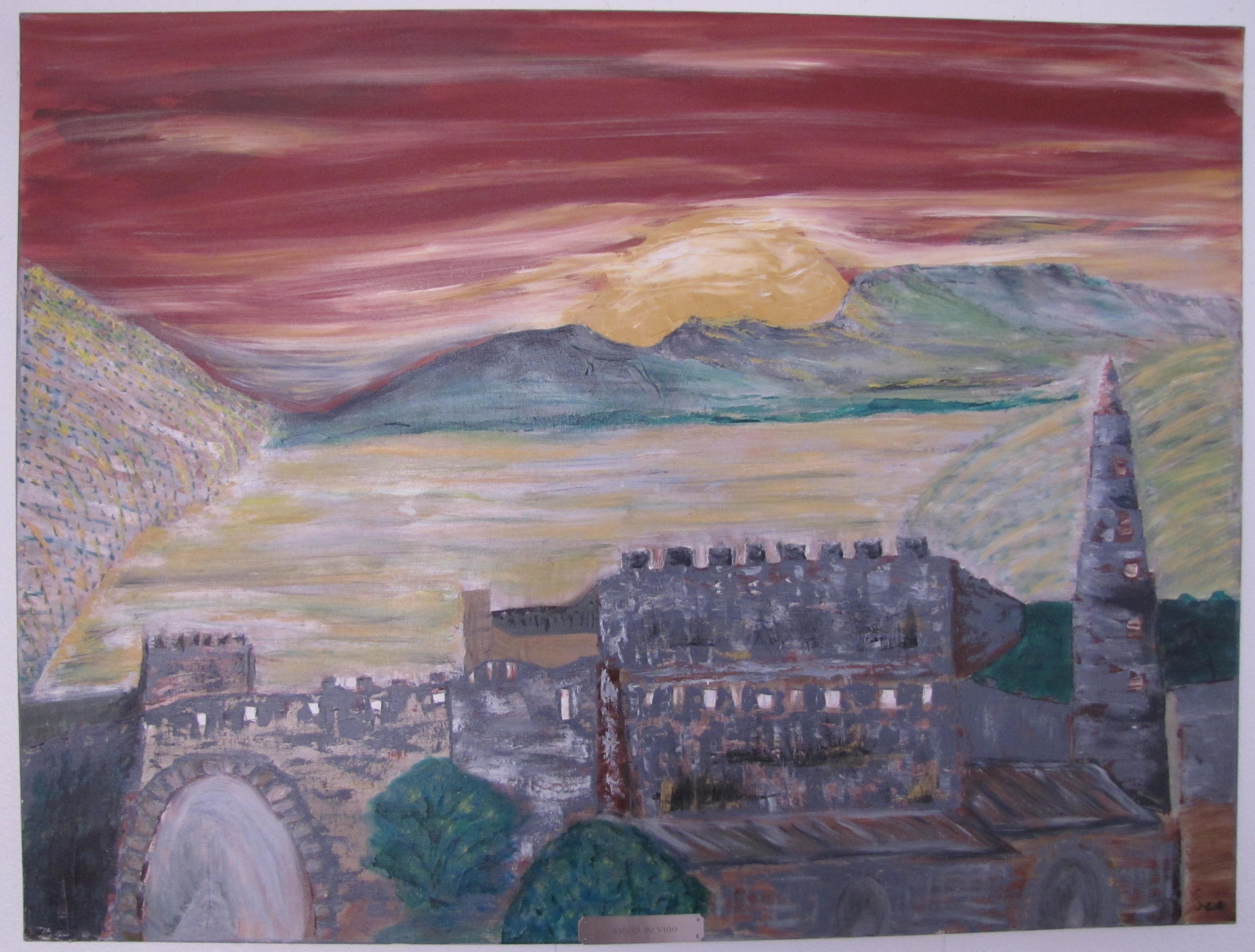 Castillo de'Vino - 30X40 - $225.00